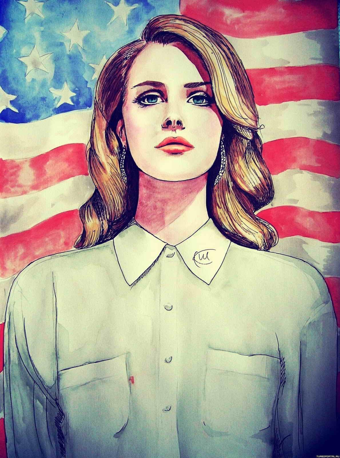 рисунки америки: